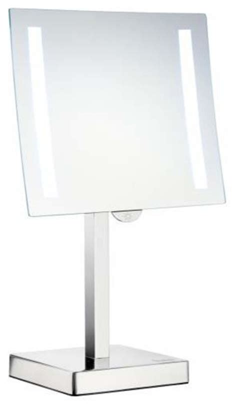 freestanding bathroom mirrors smedbo freestanding led light make up mirror