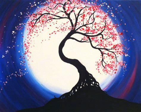 paint nite oakville 25 best ideas about tree of painting on