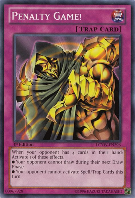 yugioh cards that make your opponent draw penaltygame lcyw en c 1e