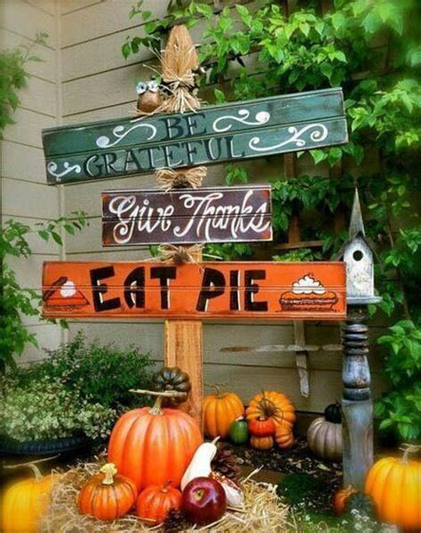 outdoor decoration pictures 30 eye catching outdoor thanksgiving decorations ideas