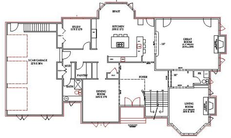 house plans with open floor plan 51 open floor house plans with walkout basement house plans with front walkout bats floor plans