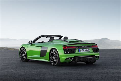 Audi Rx8 Spyder by New Audi R8 V10 Spyder Debuts In Plus Guise With 601hp