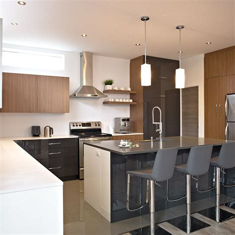 Kitchen Cabinet Products by Cuisines Beauregard Kitchen Project 315 Urban Concept
