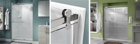 contemporary shower doors contemporary style sliding shower door installation
