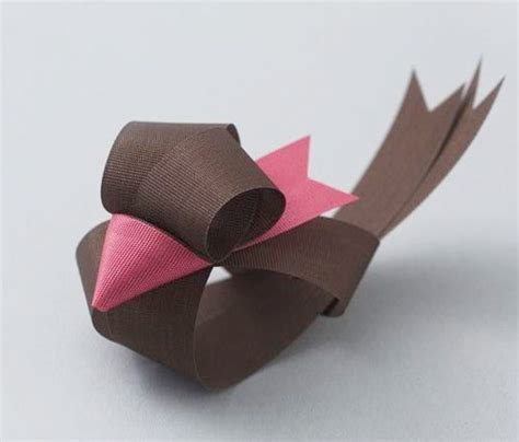 origami ribbon ribbon sculptures by baku maeda birds tutorials and origami