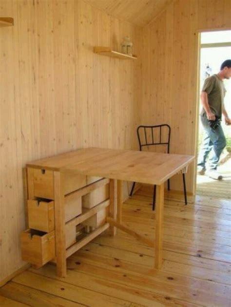 tiny house dining table fold table diy