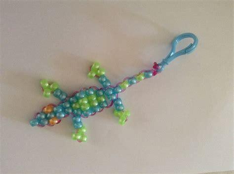 pony bead lizard pin by s grace on school fete arts craft