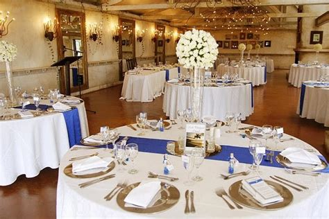 blue white decorations royal blue silver white wedding decorations http