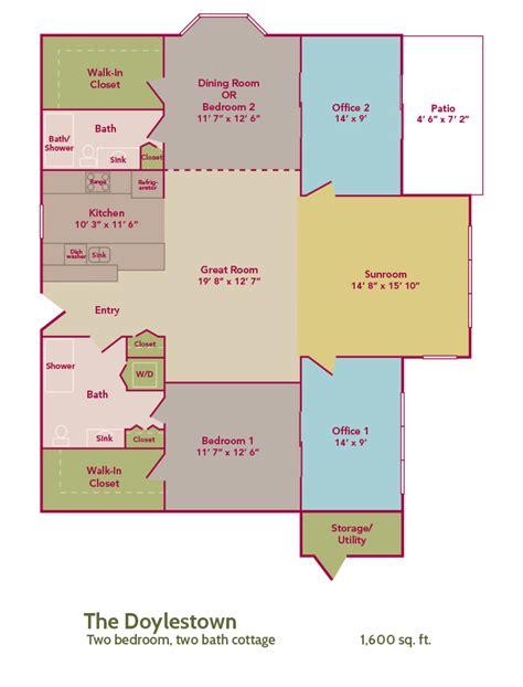 cottages floor plans cottage floor plans pine run