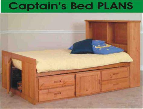 captains bed plans woodwork size captains bed plans pdf plans