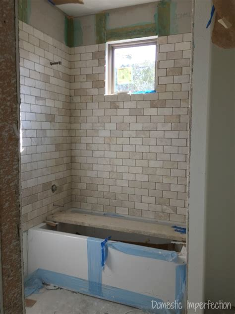 grout mistakes and installed bathroom tile domestic