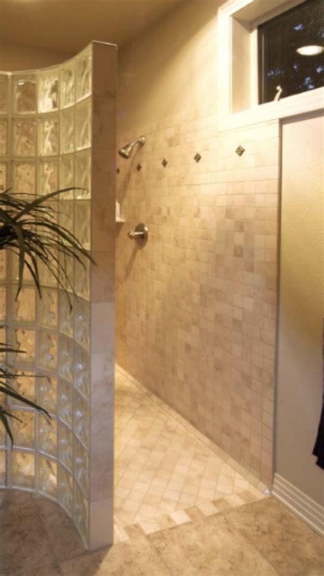 walk in shower no door walk in no door shower bathroom ideas