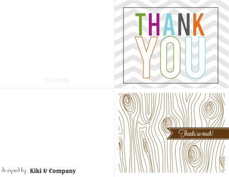 make note cards and print printable thank you notes for children today s creative