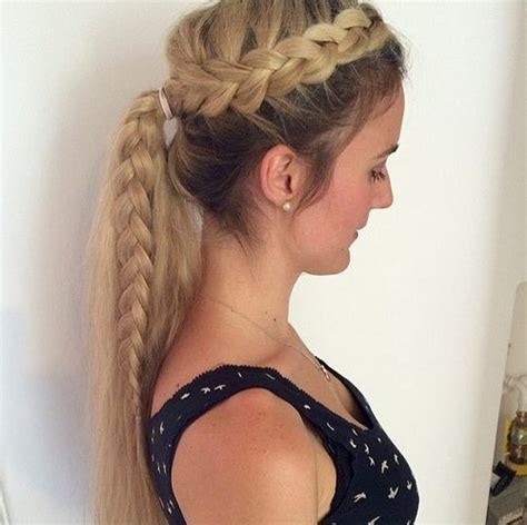 how to put on braided hair 19 pretty ways to try braid ponytails pretty designs