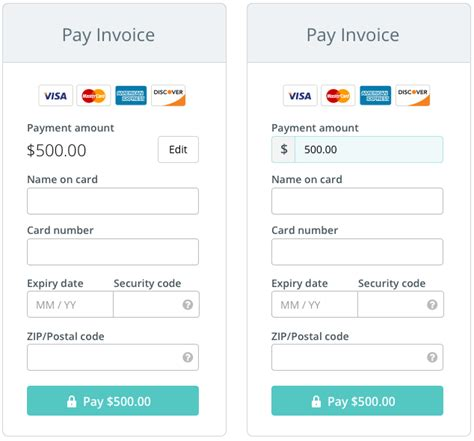 how to make payment to credit card the anatomy of a credit card form at wave marvel