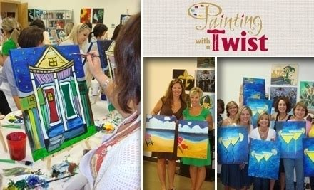 paint with a twist baltimore painting with a twist tx groupon