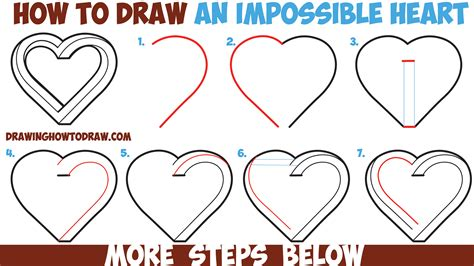 how to draw for beginners how to draw an impossible easy step by step