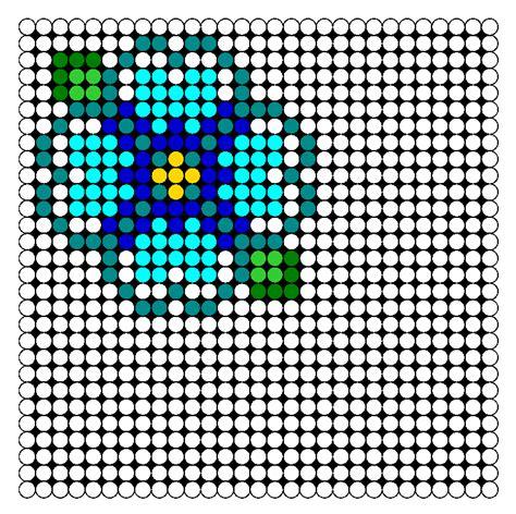 perler bead flower patterns hibiscus flower perler bead pattern bead sprites misc