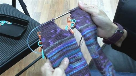 knitting turn toe up socks on circular knitting needles turning the