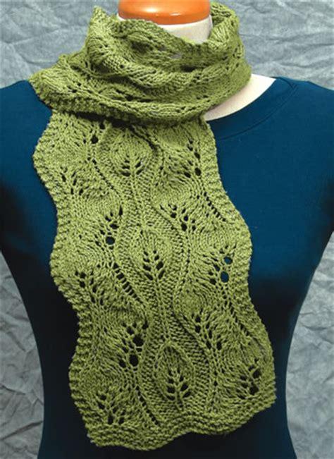 leaf knitting pattern scarf knitted leaf pattern stitch 1000 free patterns