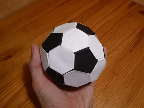 origami football alf img showing gt soccer origami steps easy