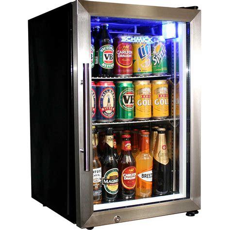 tropical glass door fridge compact 68 litre with lock