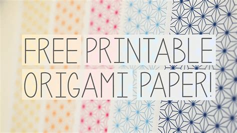 origami paper free free printable origami papers from papercrystal