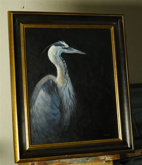 acrylic painting lesson blue heron an acrylic painting lesson tim