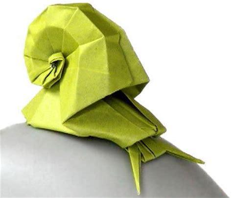 origami snail snail paper