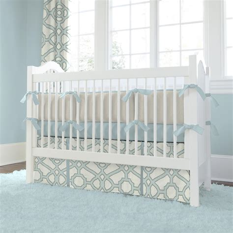 baby crib bedding for spa and gray fretwork crib bedding carousel designs