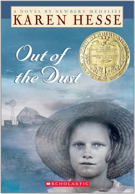 dust picture book out of the dust by hesse sienabooks4life