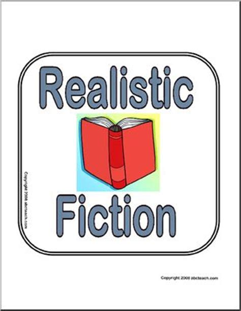 realistic fiction picture book realistic fiction clipart
