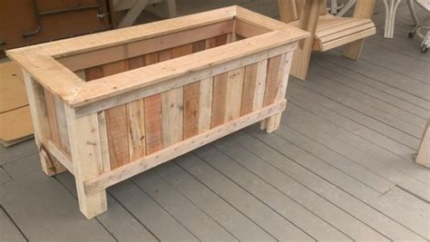 wood planter boxes woodworking plans how to make a wood pallet planter 42 diy ideas