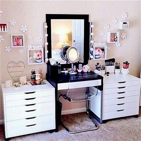 Bedroom Vanity With Storage 486 best glam beauty room ideas images on pinterest diy