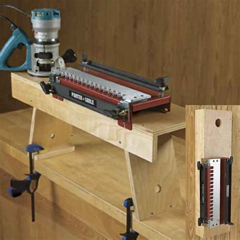 dovetail woodworking dovetail jig station woodworking plan from wood magazine