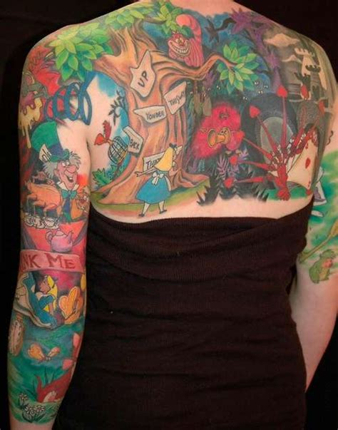 alice in wonderland tattoo the mary sue