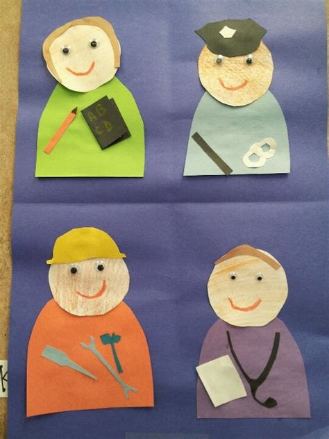 community helpers crafts for community helpers pinteres