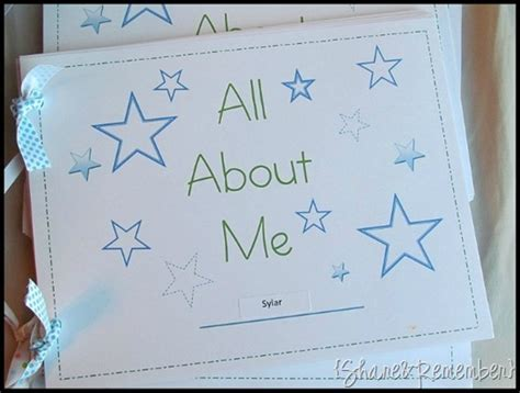 picture me book all about me books
