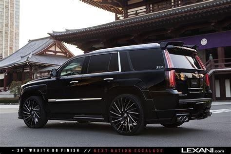 Rims For Cadillac by Lexani Wheels On 2016 Cadillac Escalades