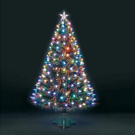 fibre optic led tree 6ft superstar green fibre optic led tree ebay