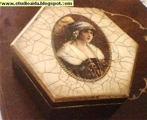 decoupage crackle crafts and decorative paintings decoupage crackle finish