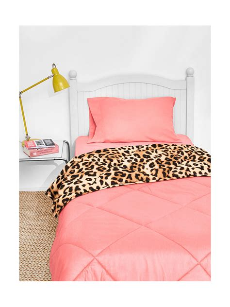 secret pink comforter sets s secret pink bed in a bag reversible