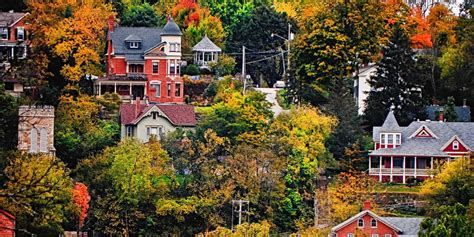 best small town in america the 50 most beautiful small towns in america