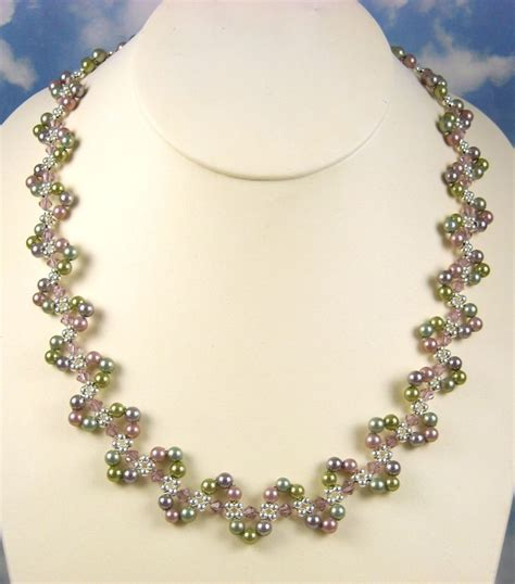 beaded necklace designs 25 best ideas about beaded jewelry designs on