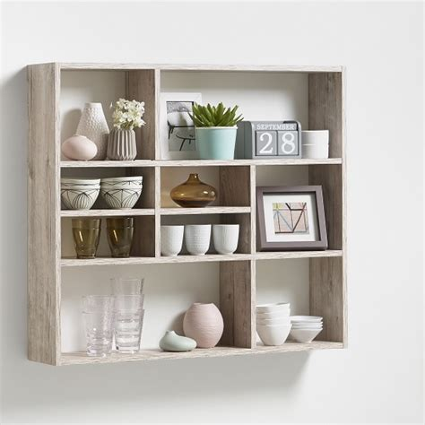 wall shelving units andreas wall mounted shelving unit in white 27391 furniture