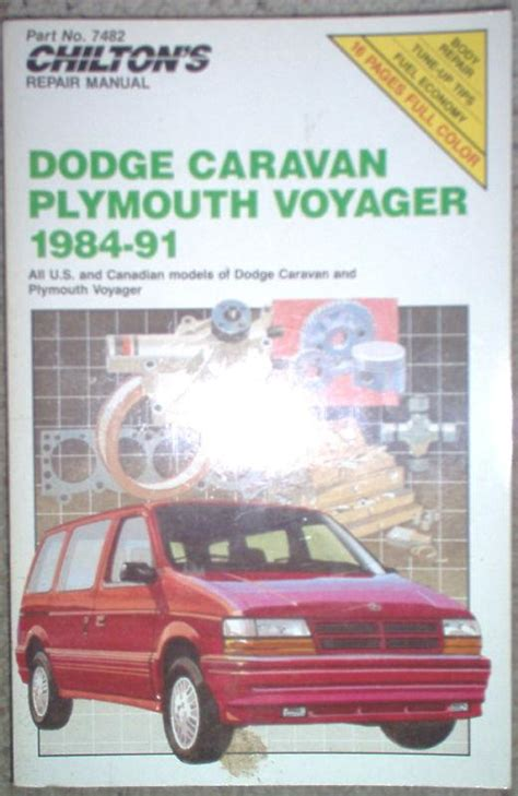 automotive repair manual 1995 plymouth voyager navigation system find 1984 1991 dodge caravan plymouth voyager chilton s repair tune up guide manual motorcycle