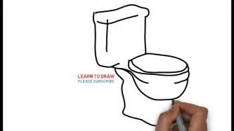how to draw a toilet easy step for how to draw a toilet seat