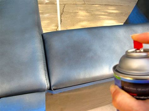 spray painting leather how to paint a leather chair with flair homejelly