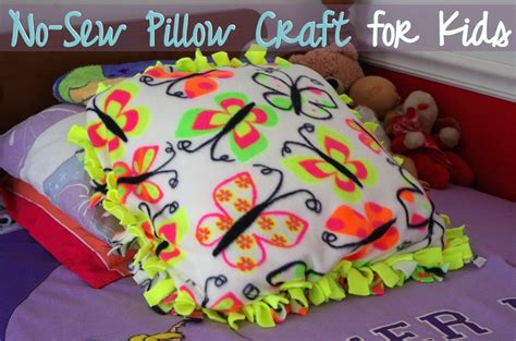 no sew craft projects no sew pillow craft for a modern mrs