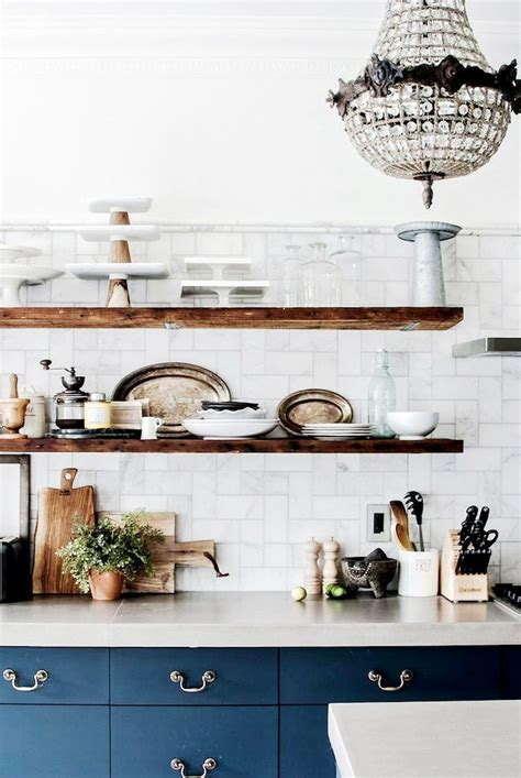 kitchen cabinet shelving how to style your kitchen shelves coco kelley